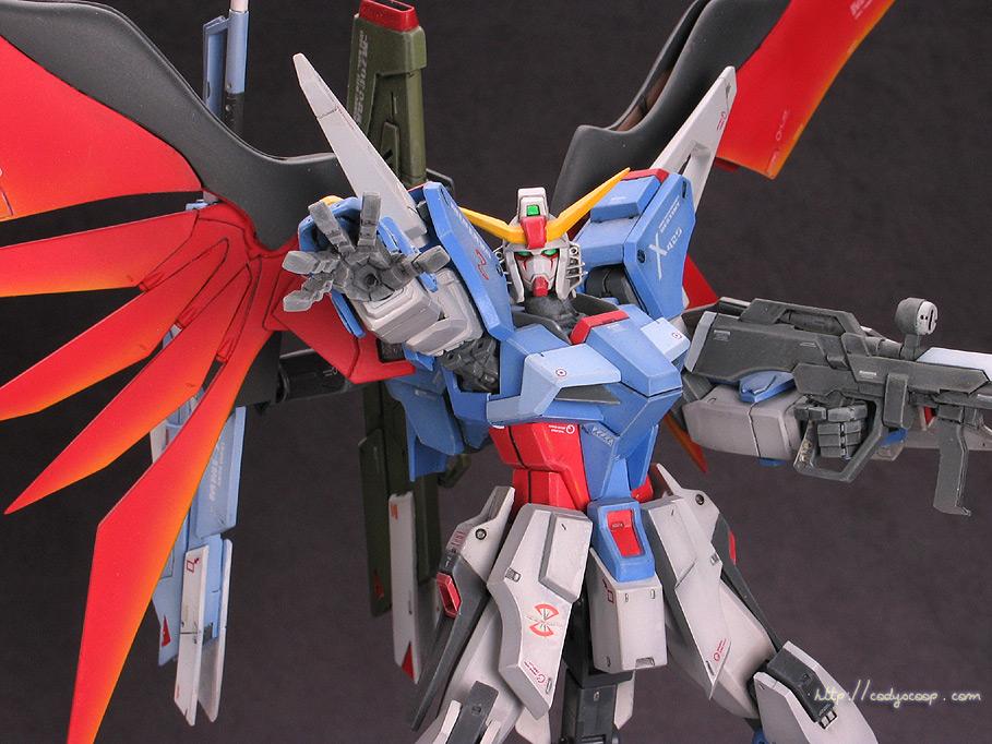 Destiny (Gundam Seed) with MG Freedom Conversion
