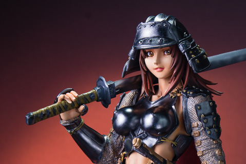 Armored Girl (Kacchu Musume) from Cerberus Project 1/6 Resin Figure