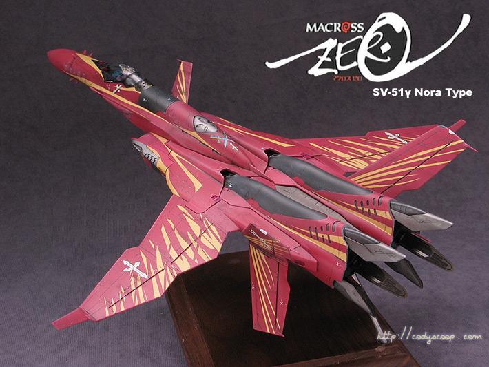 Macross Zero SV-51 gamma (Nora)