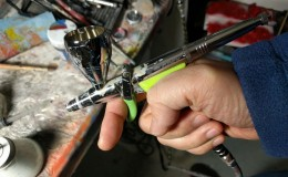 New airbrush: GREX TG5