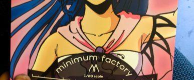 Kit Review: Lynn Minmay 1:20 Minimum factory (Max Factory / Good Smile Company)